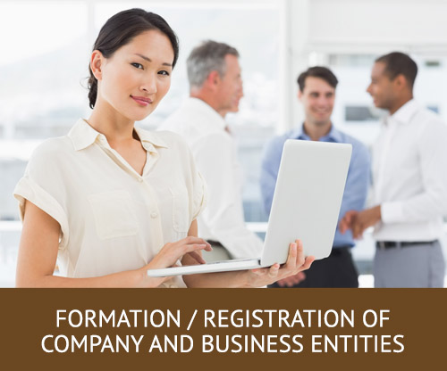 Formation / Registration of Company and Business Entities